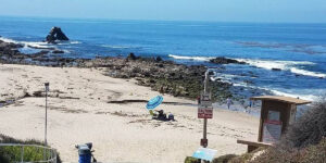 Corona Del       Mar Beach Picnic Location
