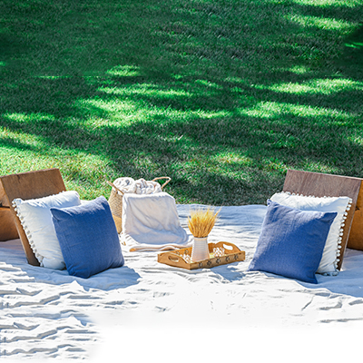 Lounge Package add on for picnic